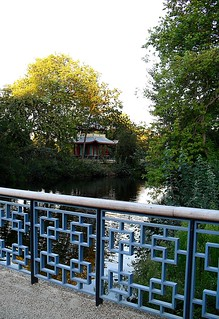 Approach to Pagoda from new decorative bridge, Victoria Park
