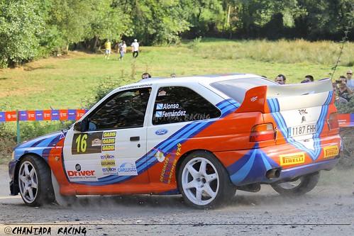 """Carlos Iván Alonso Escort """"WRC"""" XXXIV Rally San Froilán 2012"""