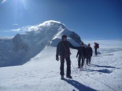 Descente du Mont Blanc