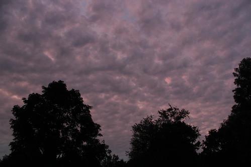 sunset sky landscape woods connecticut ct danbury