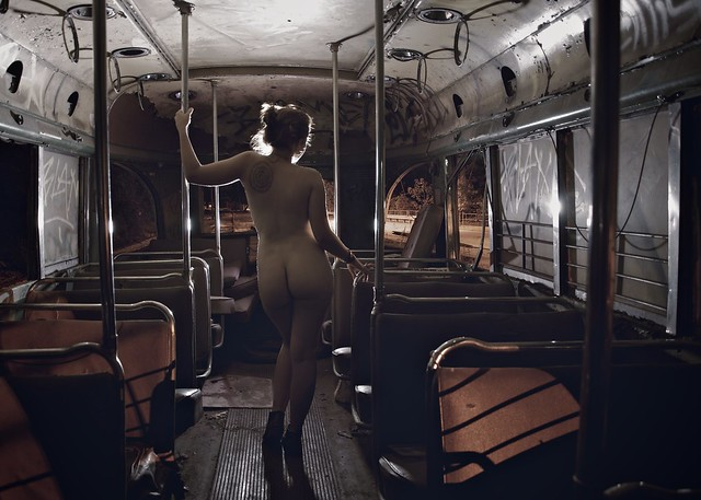 Street Car Nude Shoot