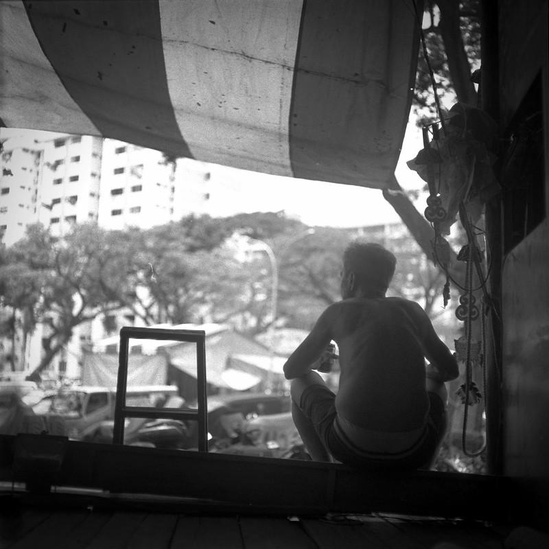 黑白摄影 - 戏剧人生