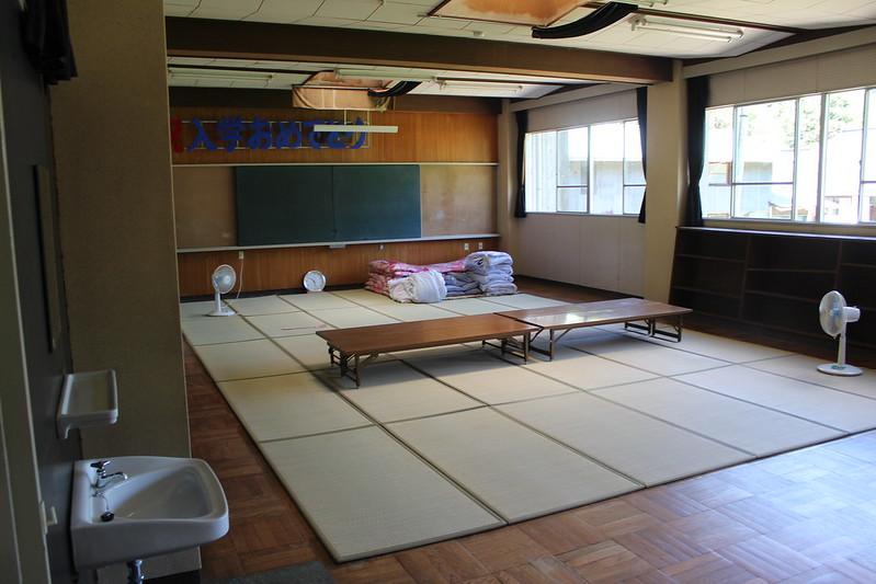 旧矢作小学校 談話室