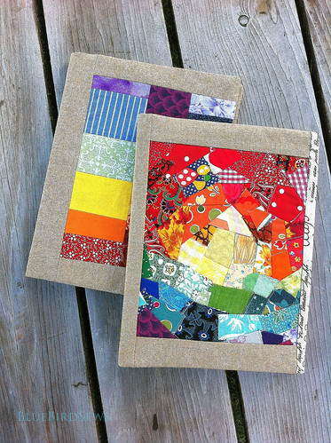 Rainbow Scrappy: Journal Cover Tutorial