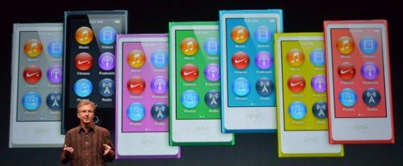 Цвета iPod