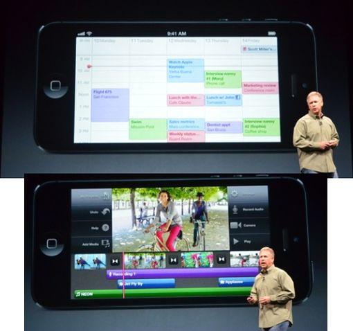 Календарь и проигрыватель iPhone 5