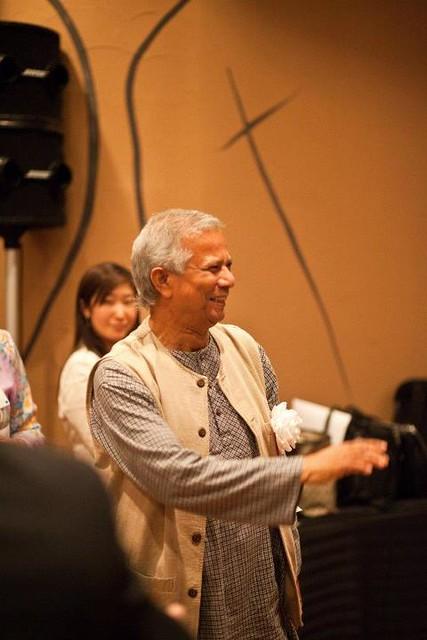 Nobel Peace Laureate Professor Muhammad Yunus
