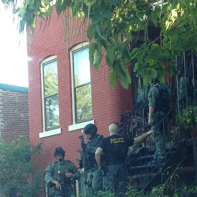 Police Raid 711 Fst NE