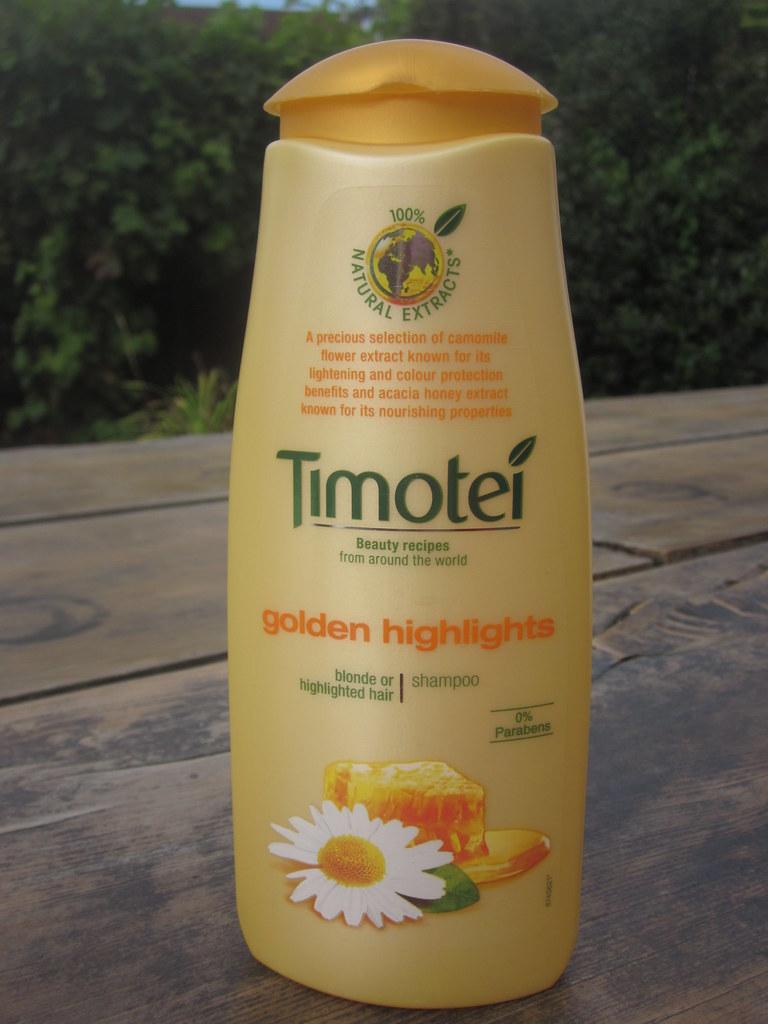 timotei golden highlights hair shampoo 300ml ebay. Black Bedroom Furniture Sets. Home Design Ideas