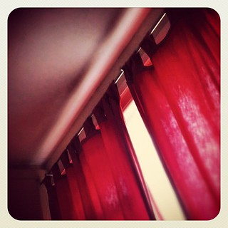 365 - First thing I see - bedroom curtains!