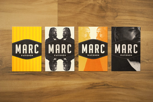 Marc d'Avignon // Business Cards