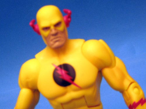 Zoom - Reverse Flash close-up