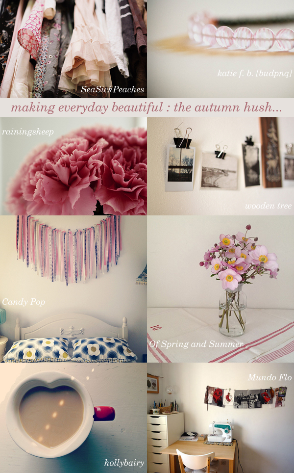 making everyday beautiful : the autumn hush | Emma Lamb
