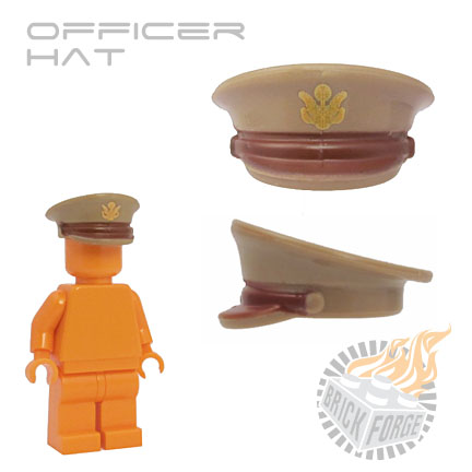 Officer Hat - Dark Tan (US Army)