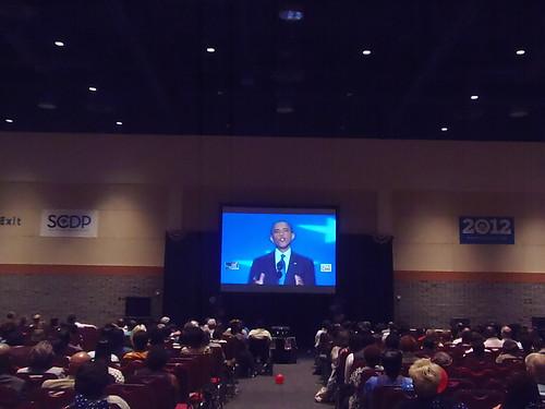 Watching President Obama