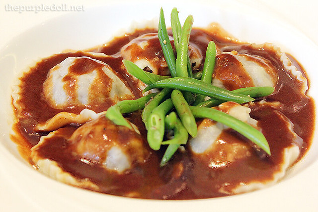 Braised Veal Cheek Ravioli P370