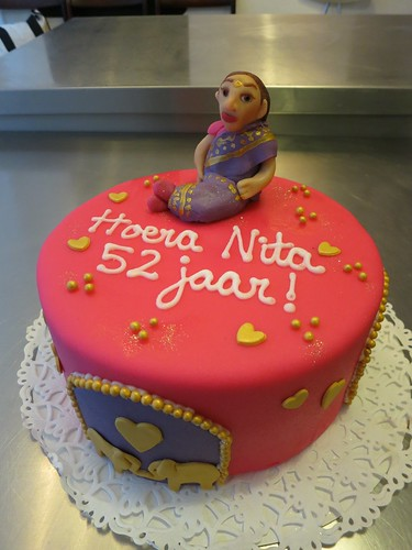 Indian Birthday Cake by CAKE Amsterdam - Cakes by ZOBOT