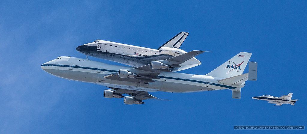 Space Shuttle Endeavour- Final Flight LA Fly Over
