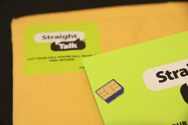 StraightTalk micro-SIM