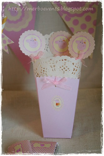 Toppers Merbo Events Kit Peppa Pig