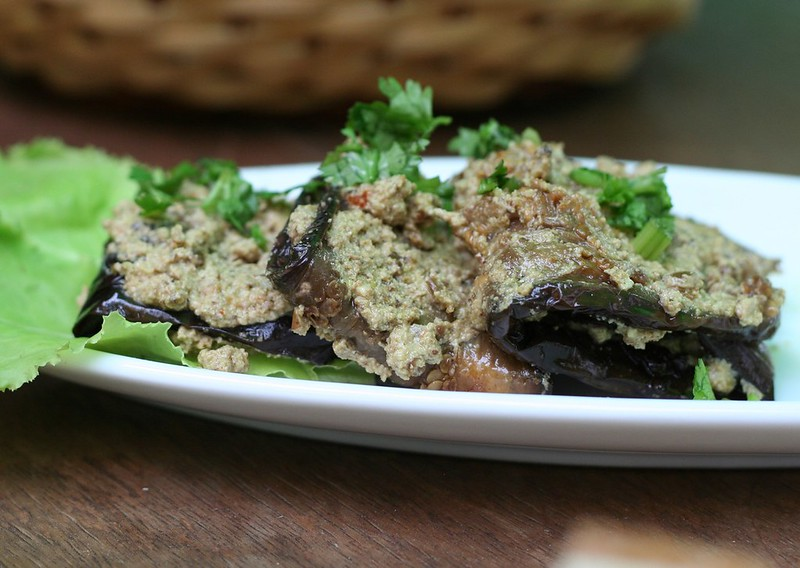 Eggplant with Walnut