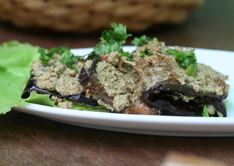 Eggplant with Walnut