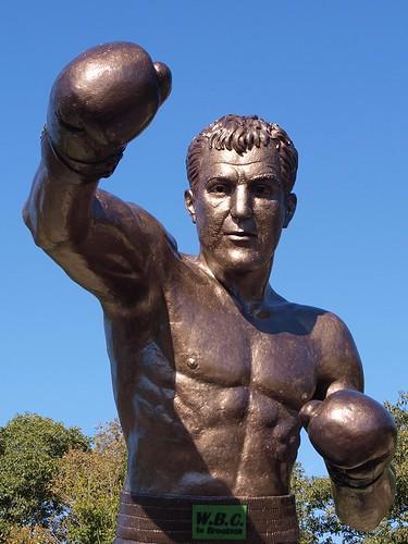 Rocky Marciano by Eugene Goodale