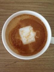 Today's latte, mi (mimikaki edit).