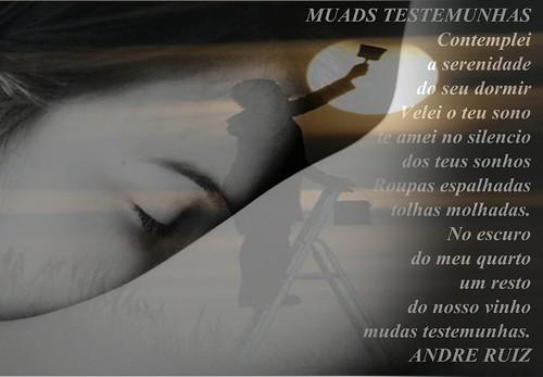 MUDAS TESTEMUNHAS by amigos do poeta
