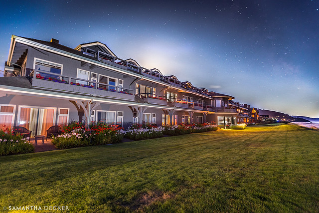Milky Way Over the Stephanie Inn