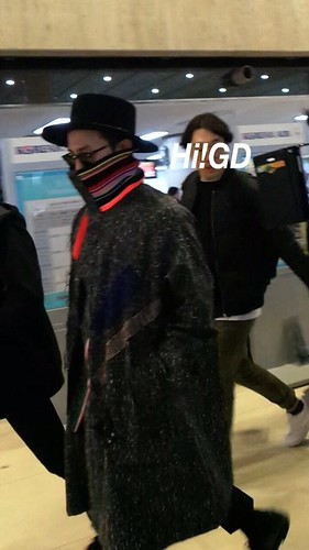 Big Bang - Gimpo Airport - 15jan2015 - G-Dragon - Hi GD - 03