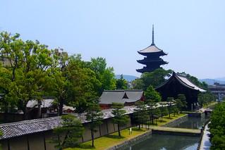 To-ji, Goju-no-to (Five-storied Pagoda) -1 (June 2010)
