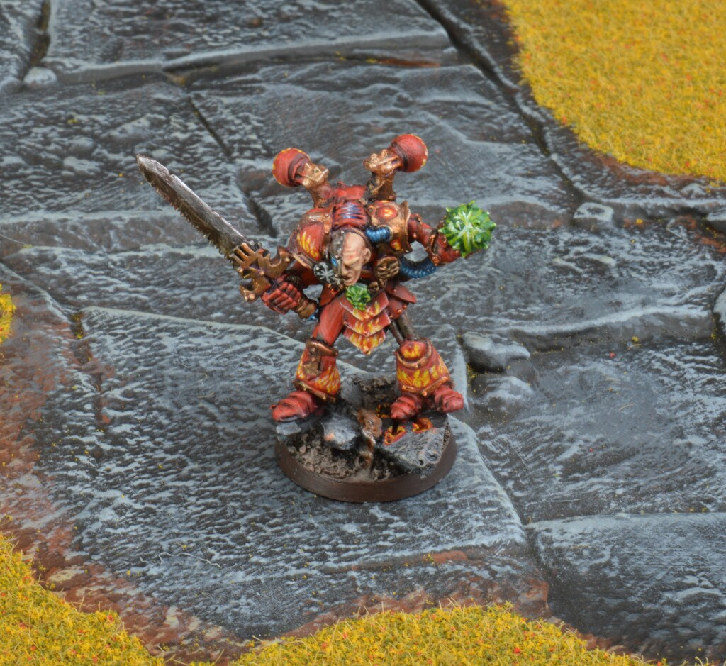 Blood For The Blood God Warhammer Paint Uses