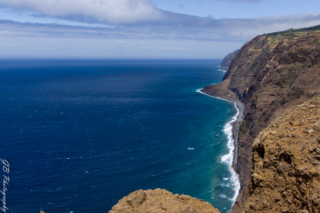 View from Ponta Vigia - western edge of Madeira