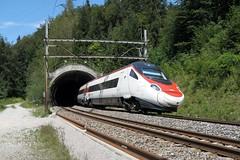 Spiez - Hondrichtunnel 2 BLS