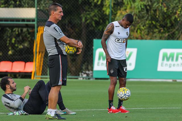 Atlético-MG treina para enfrentar o Internacional