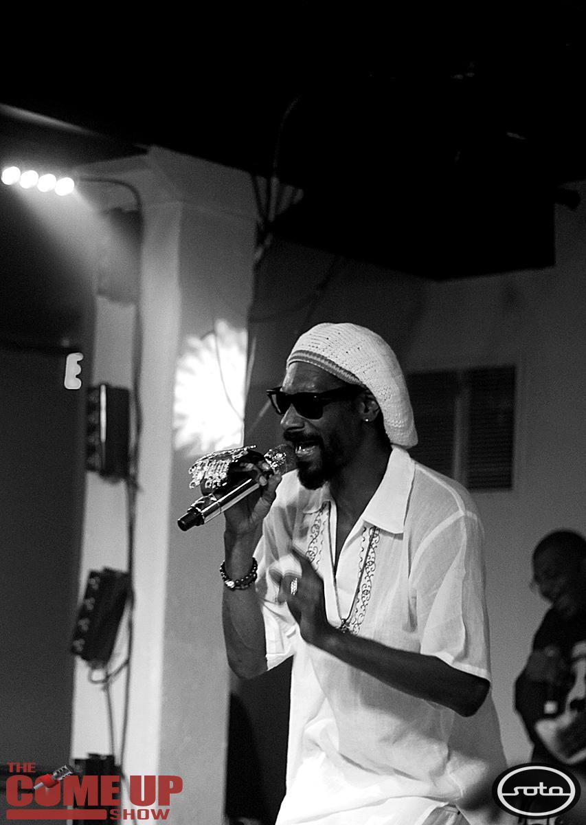 Snoop Dogg aka Snoop Lion @ The Hoxton