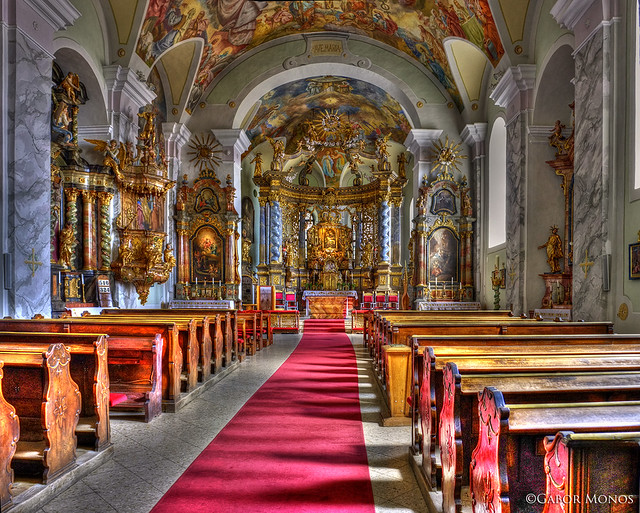 Parish church, with frescoes Maulbertsch