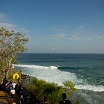 Padang began to crank 6 ft sets by mid morning.<br />