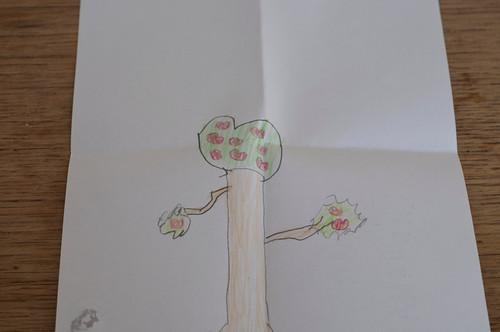 Geburtstagsgeschenk Herzbaum