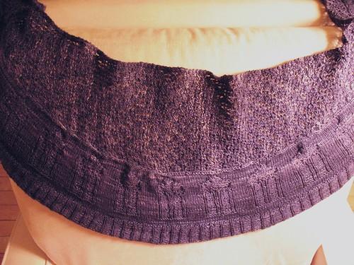 TARDIS shawl