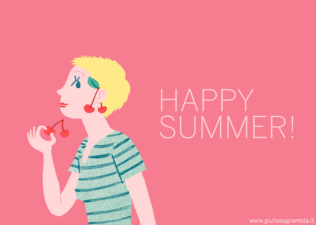 HAPPY SUMMER! / Cherry