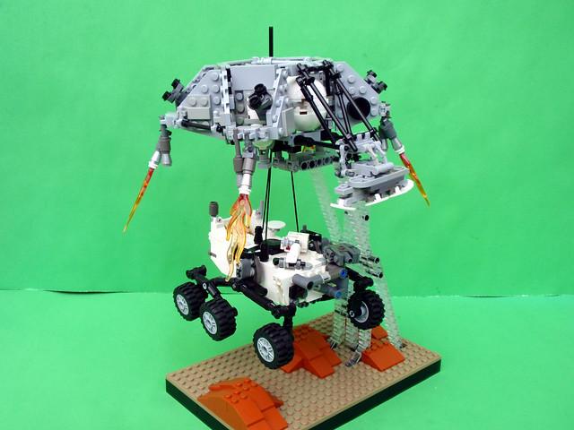 mars rover sky crane - photo #18