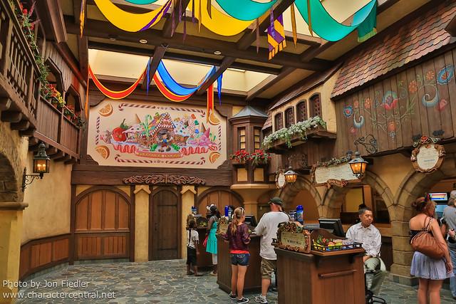 Disneyland July 2012 - Village Haus Restaurant