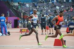 Mo Farah double vainqueur du 5000-10000m à Londres 2012