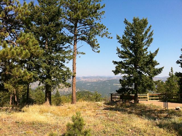 Back range - Hiking at Green Mountain, Boulder, CO