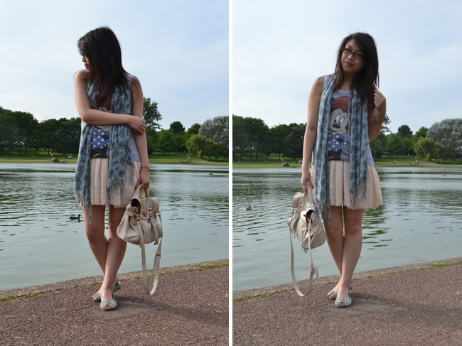 daisybutter - UK Style and Fashion Blog: what i wore, ootd, wiwt, SS12, ever ours, mulberry alexa