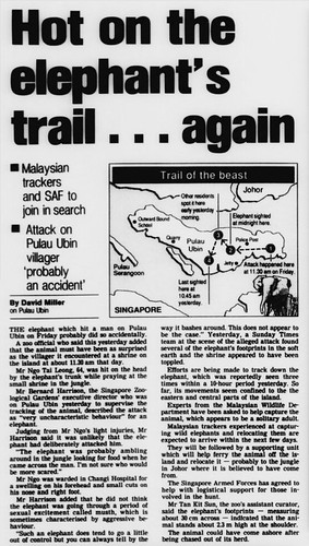 The Straits Times 3 March 1991