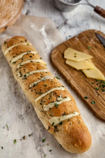 Garlic And Herbs Bread