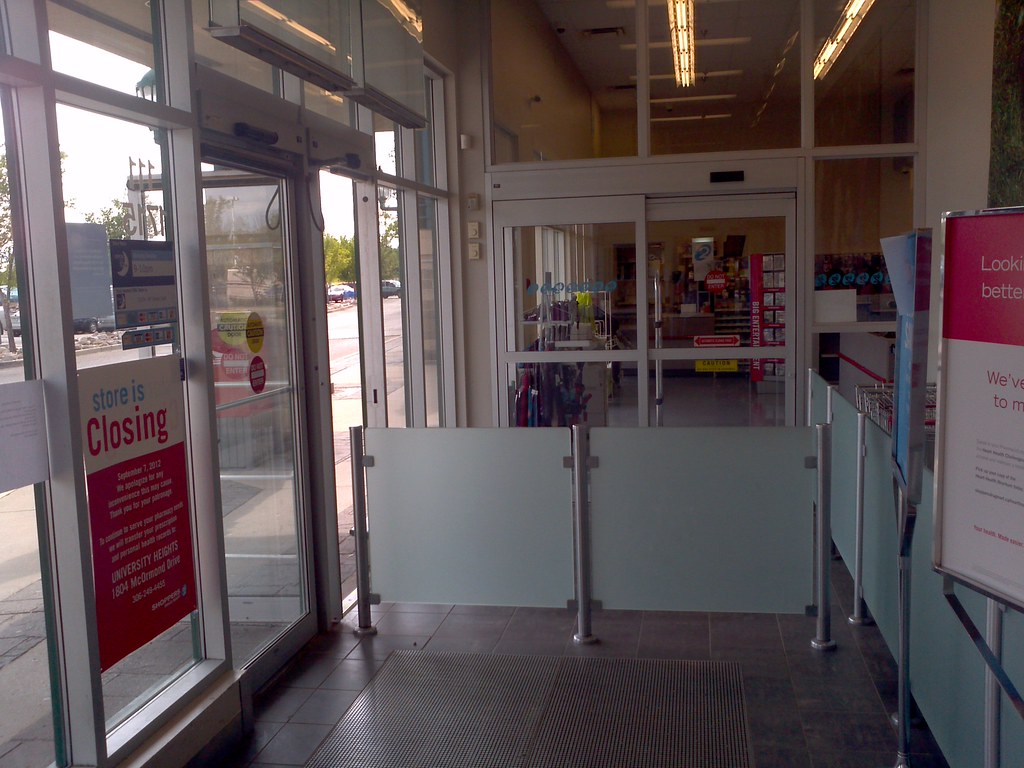 Superieur Shoppers Drug Mart Store Closing/Automatic Sliding And Swinging Doors